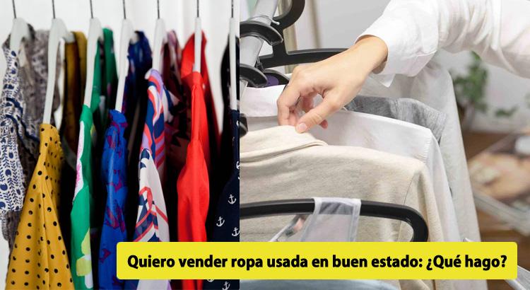 ddad8019819a Dónde vender ropa usada  3 opciones REALES para ganar dinero