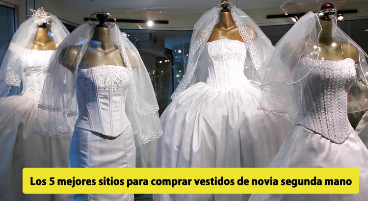 los 4 mejores sitios para comprar vestidos de novia segunda mano