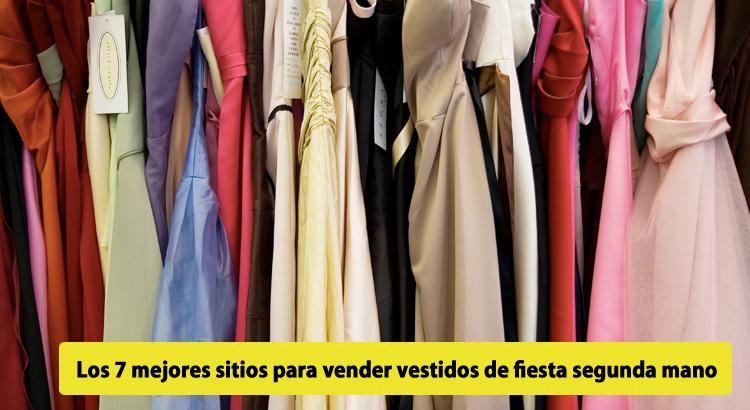 los 7 mejores sitios para vender vestidos de fiesta segunda mano