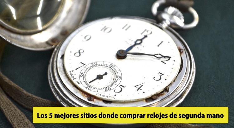 18228da148e2 Los 5 mejores sitios donde comprar relojes de segunda mano