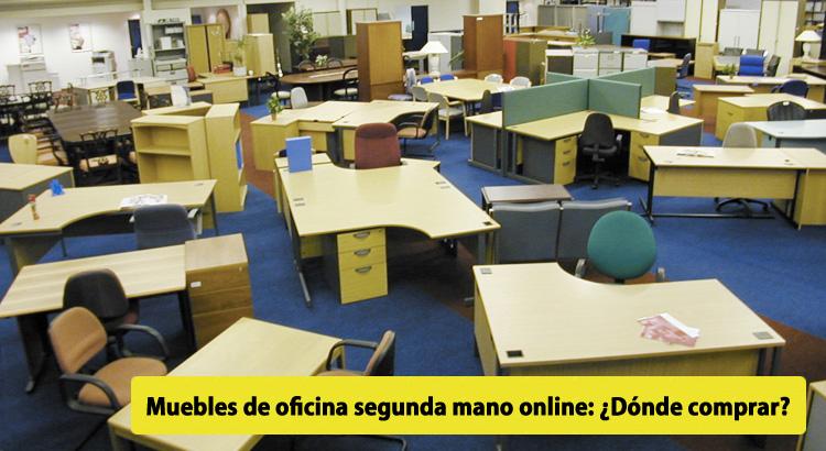 Muebles de oficina segunda mano online: ¿Dónde comprar?
