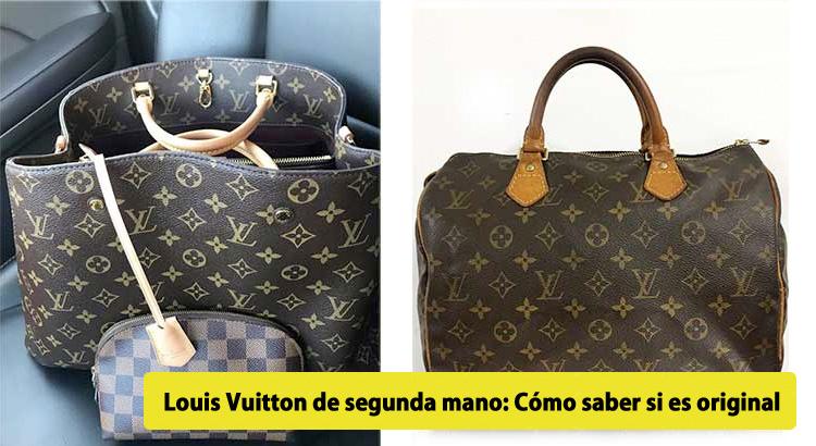 el más nuevo 306e3 56e7b Louis Vuitton de segunda mano: Cómo saber si es original