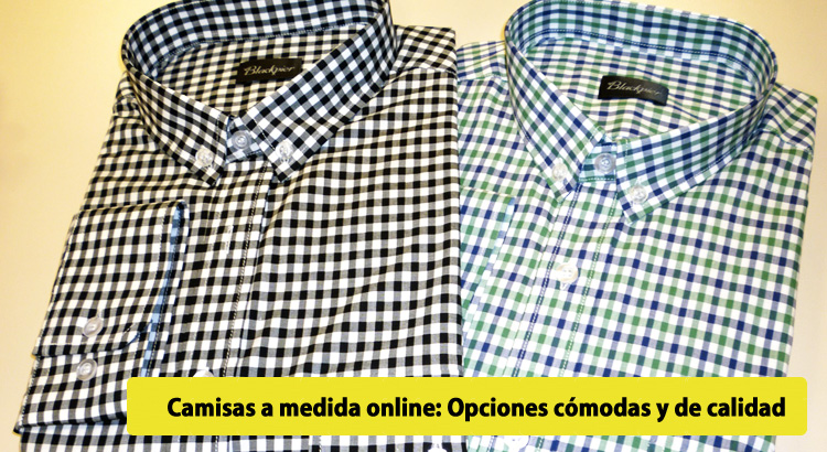 Camisas a medida online  Opciones cómodas y de calidad - thelemonapp 7a5c7cb0e9c21