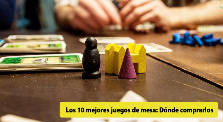 Los 10 mejores juegos de mesa d nde comprarlos en 2017 for 10 negritos juego de mesa